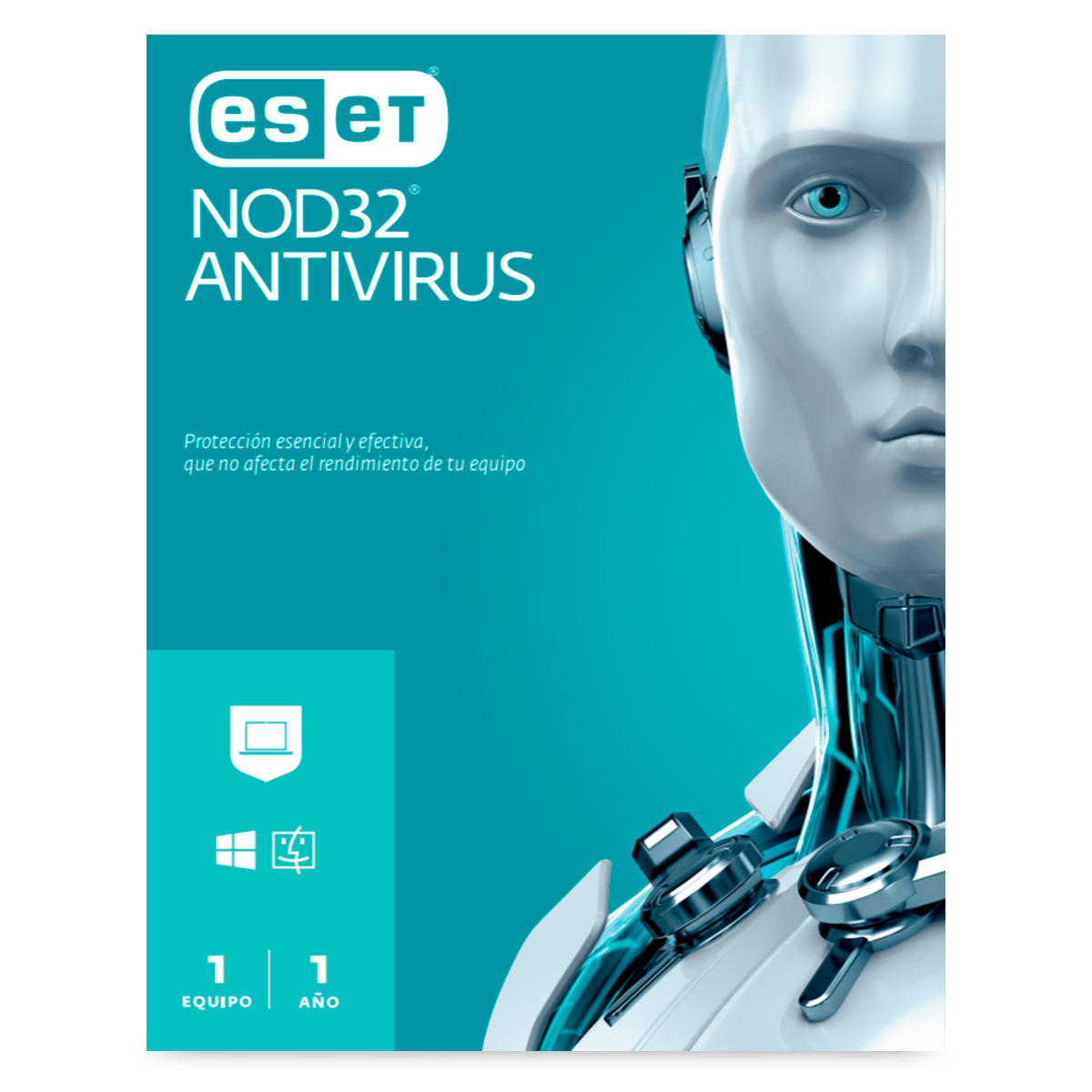 ANTIVIRUS ESET NOD32 (1 USUARIO)