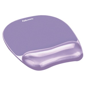 MOUSE PAD FELLOWES SOPORTE DE MUNECA GEL CRYSTAL