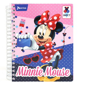 CUADERNO DO MM DISNEY MINNIE(AMERICANO 200 HLINEA)